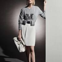 Classy white and gray ⚪️⬜️  #fallwintercollection #maxmara #neutralcolor #grey #white #lookoftheday #belmarfashion #maxmaratenerife